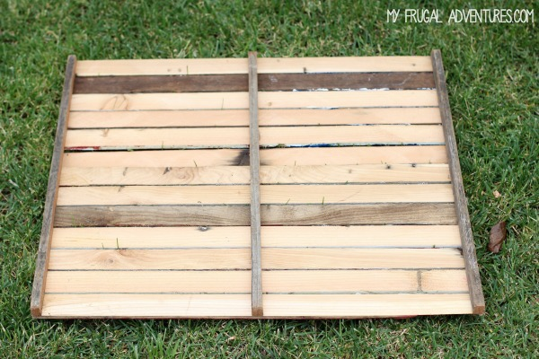 How to make a pallet flag