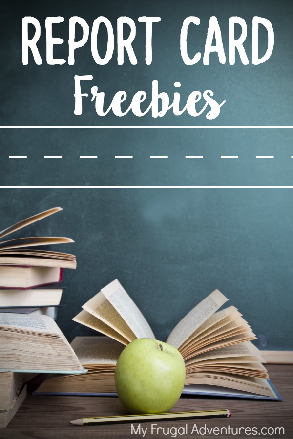 Report Card freebies 2016