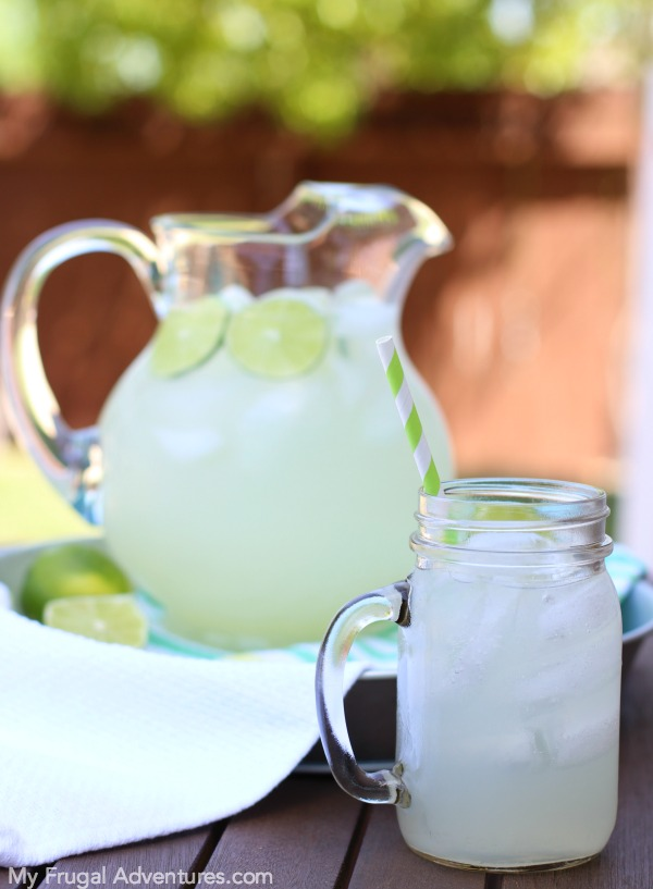 Sparkling Mint Limeaid My Frugal Adventures