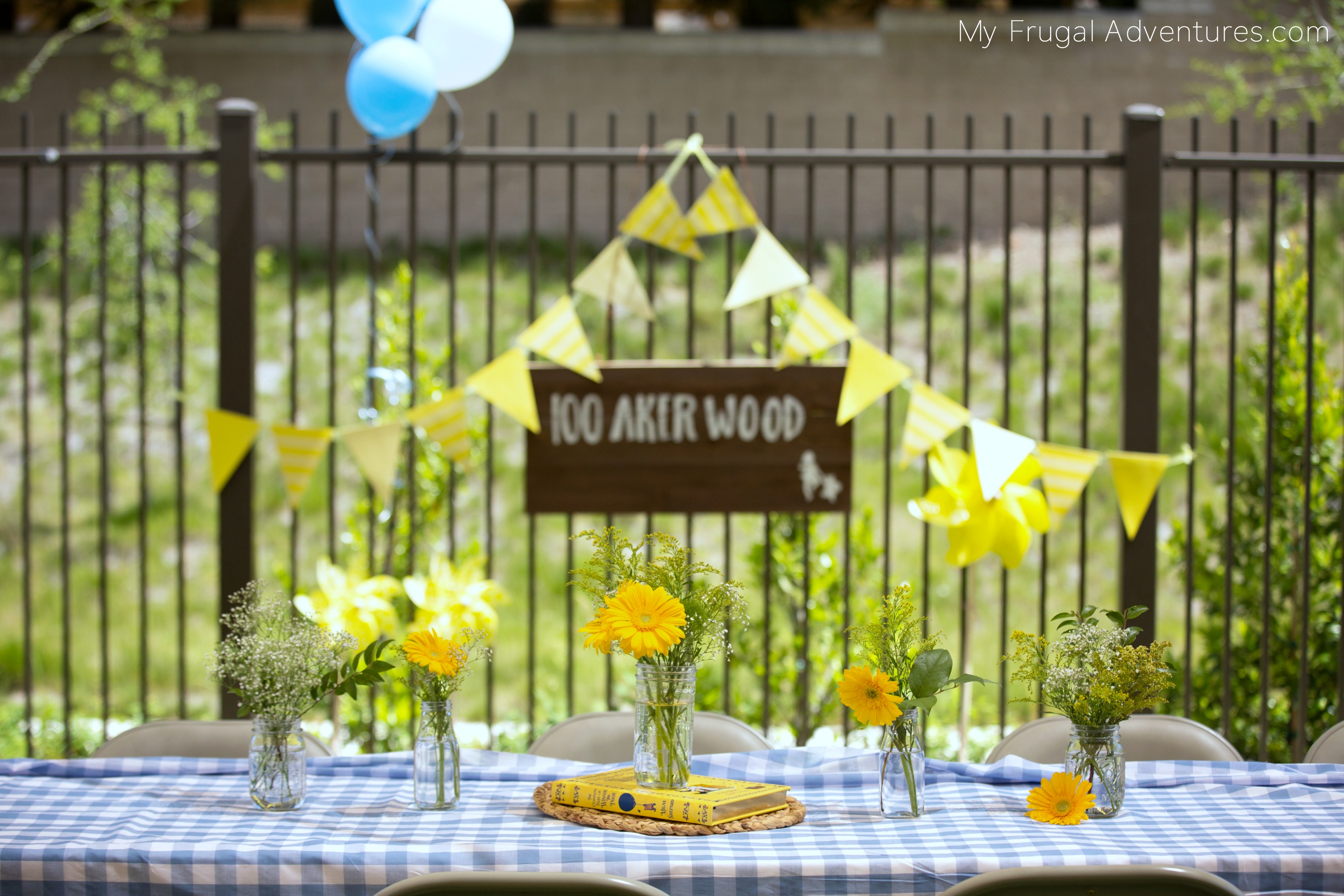 Winnie the Pooh Party decorations
