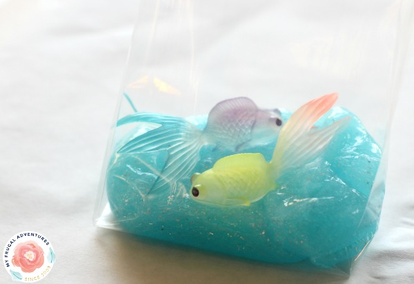 Fish In A Bag Slime My Frugal Adventures