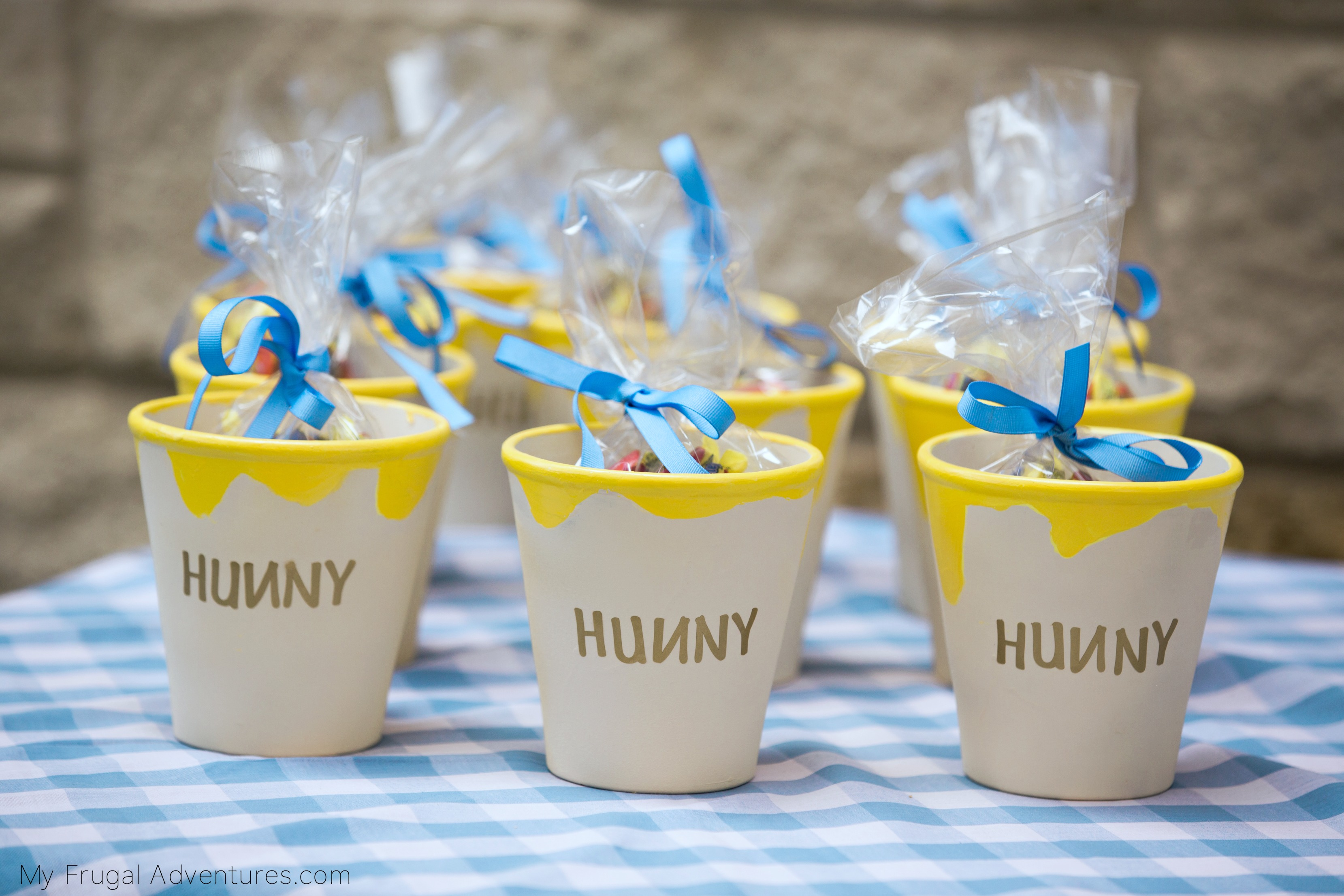 hunny pot for pooh party