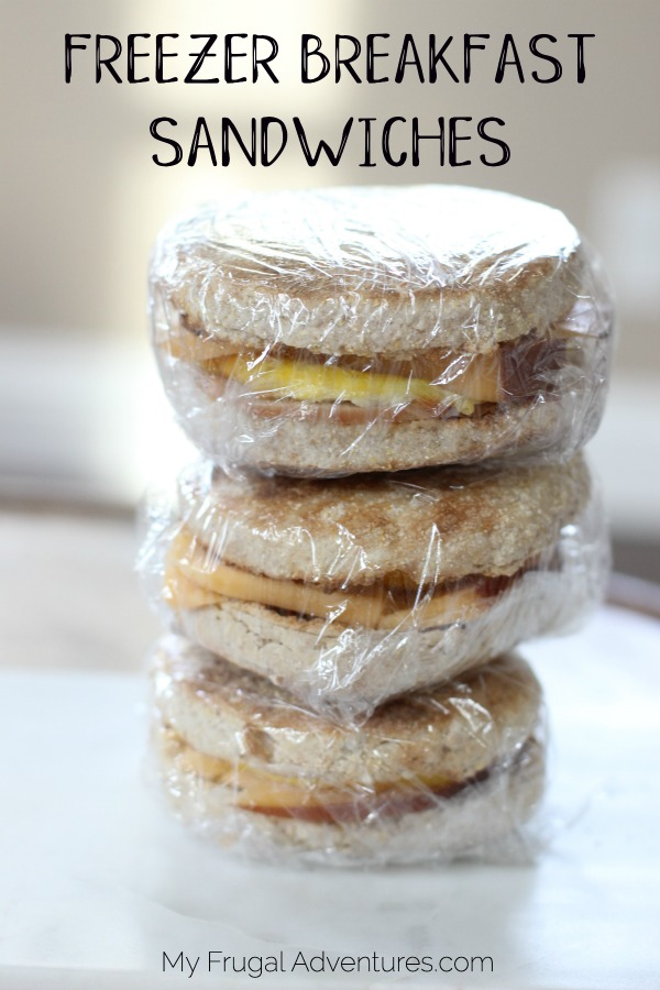 Freezer Breakfast Sandwiches Recipe
