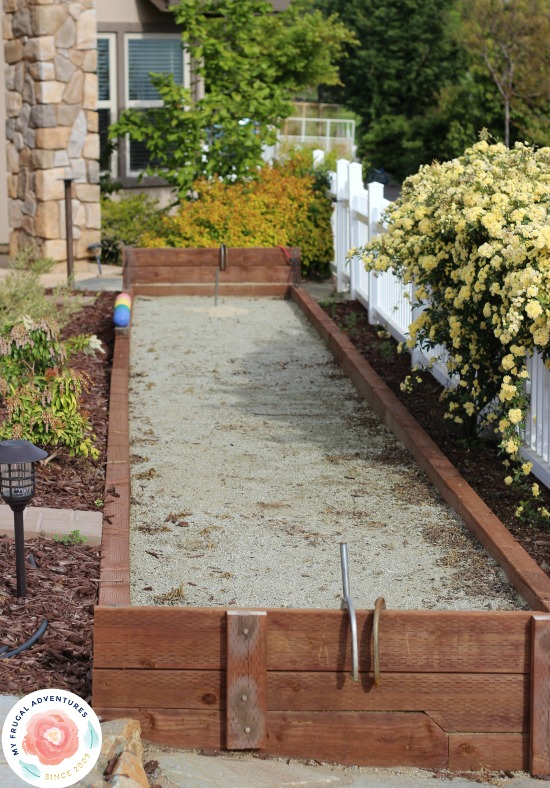 How to Build a Bocce Court tutorial