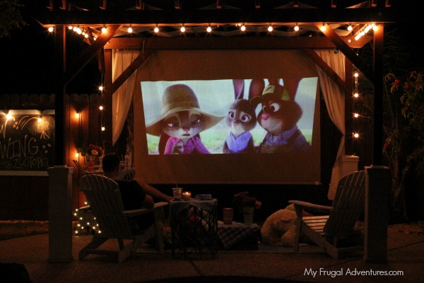 Outdoor Movie Night Ideas My Frugal Adventures