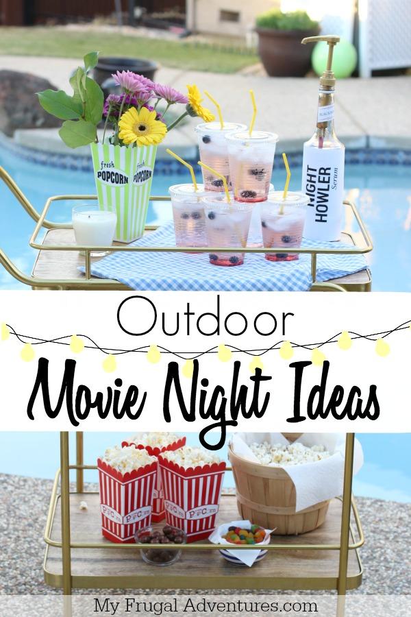 Outdoor Movie Night Party Ideas