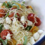 Roasted Tomato & Mozzarella Pasta