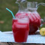 Sparkling Pomegranate lemonade recipe