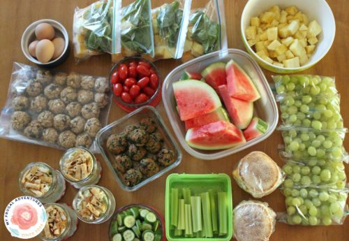 how to prep meals for the week