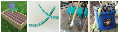 pool noodle craft idea