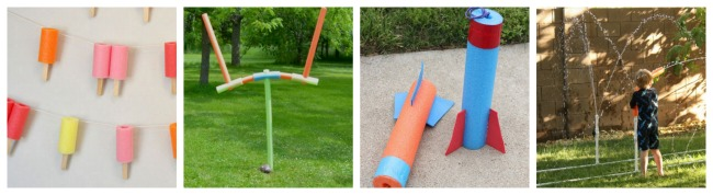 pool noodle craft ideas