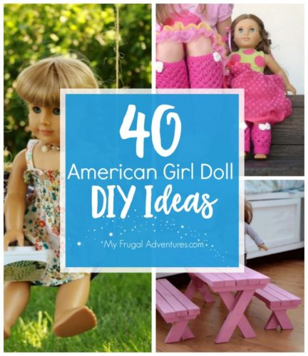 Diy American Girl Crafts And Clothing My Frugal Adventures