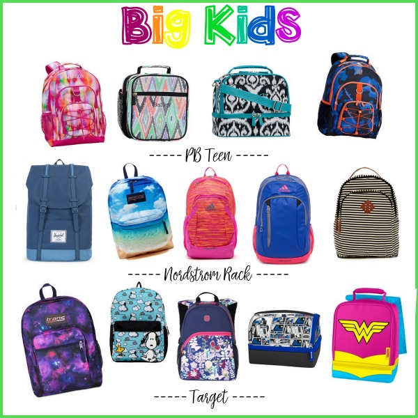 Backpacks and Lunchbags for Back to School - My Frugal Adventures