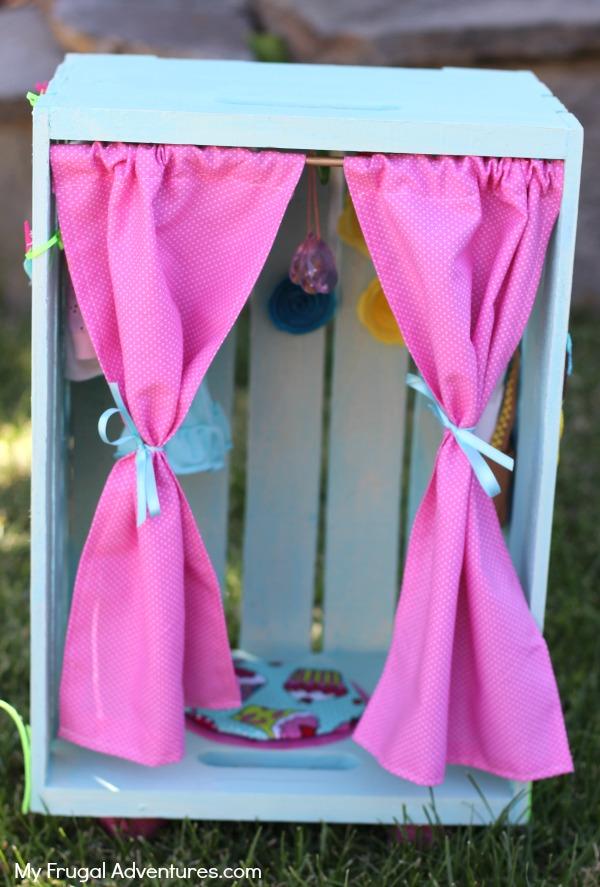 homemade doll closet