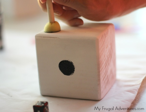 how to make dice