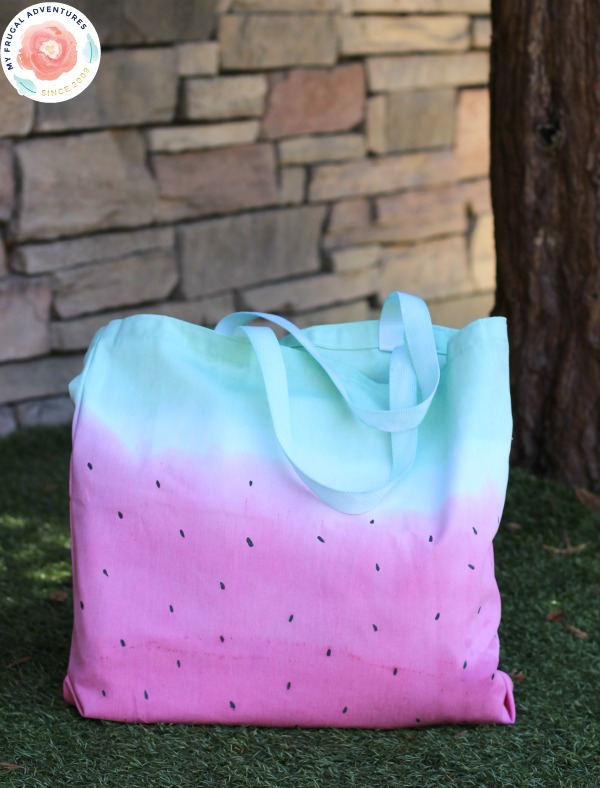 watermelon tote bag for kids