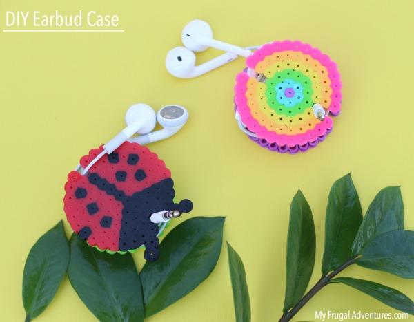 Easy DIY Earbud case