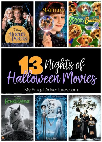 13 Nights of Halloween Movies - My Frugal Adventures