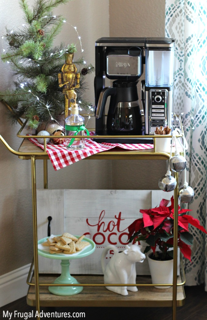 coffee-bar-cart-for-the-holidays