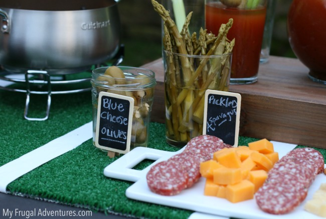 Super Bowl Party Decor Ideas