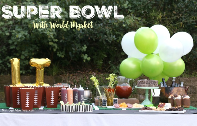 super Bowl ideas with World Market