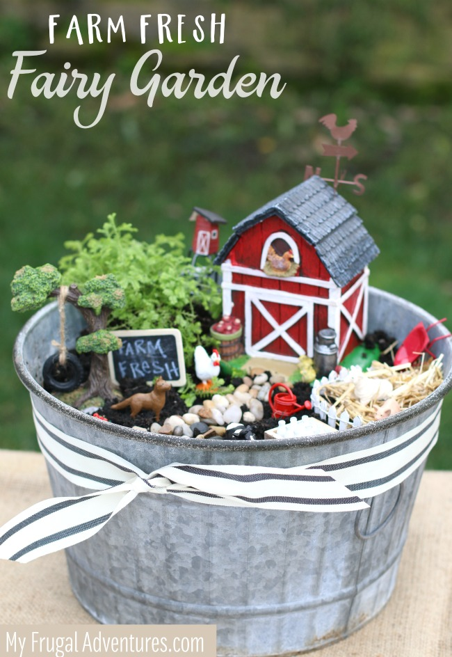 Farm Fresh Fairy Garden