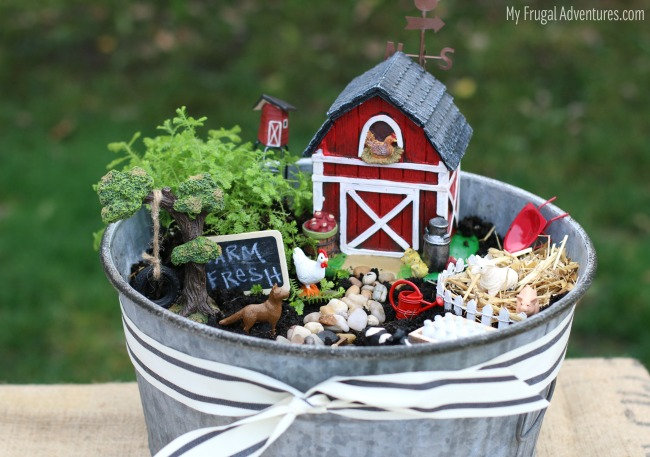 Farm Fresh Fairy Garden My Frugal Adventures