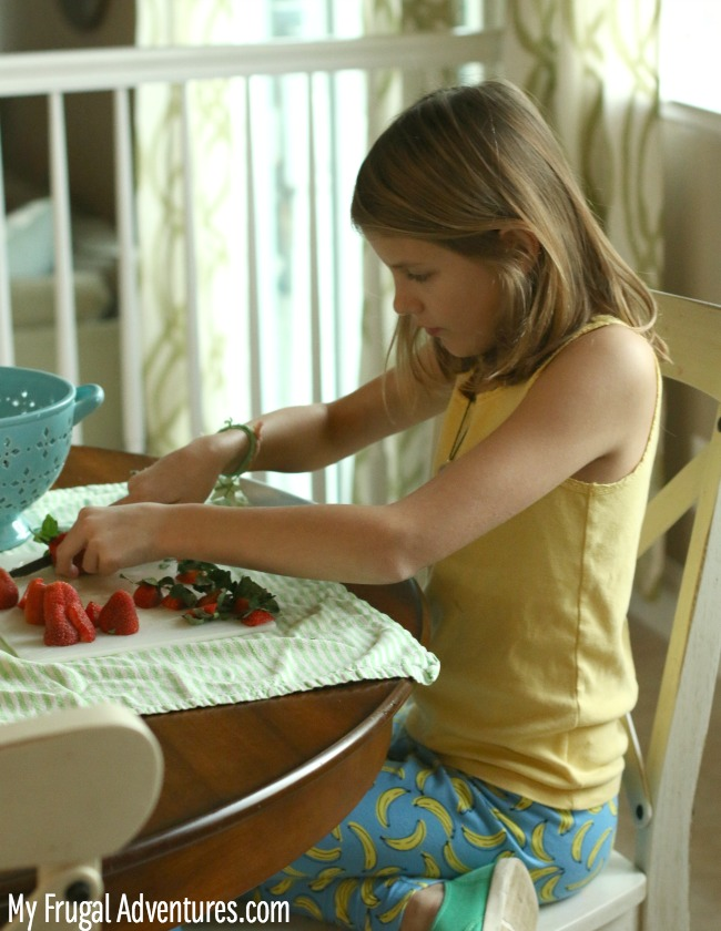 how to make strawberry milk