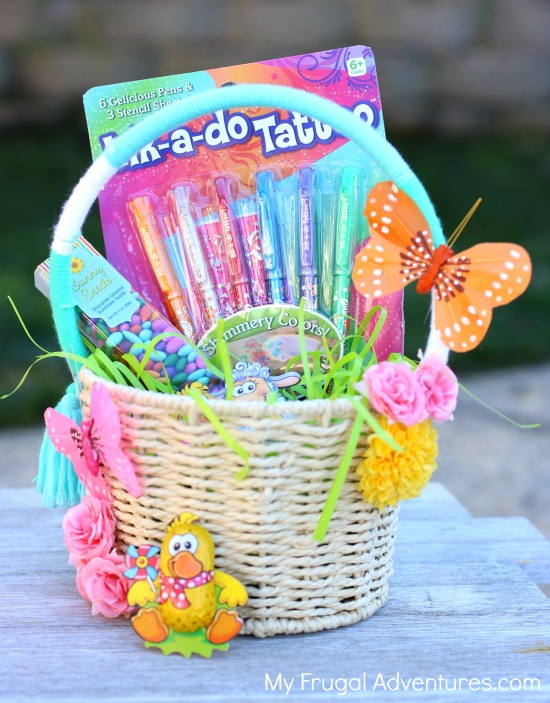 Simple diy easter baskets my frugal adventures diy easter basket tutorial negle Image collections