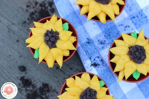 flower Cupcakes Recipe by My Frugal Adventures