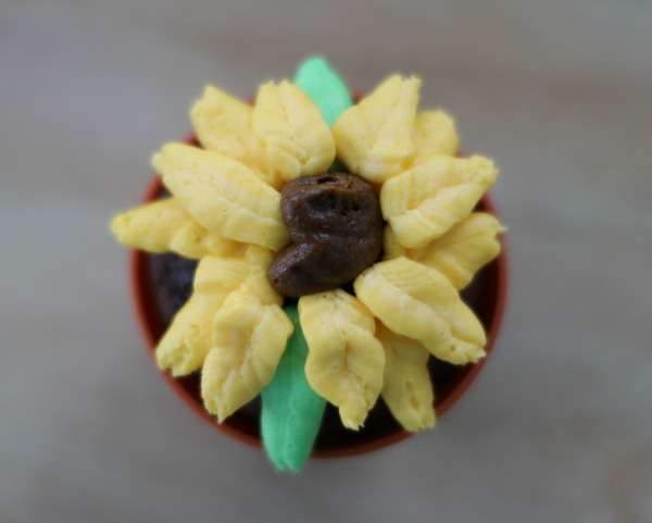 how to make flower cupcakes : my frugaladventures