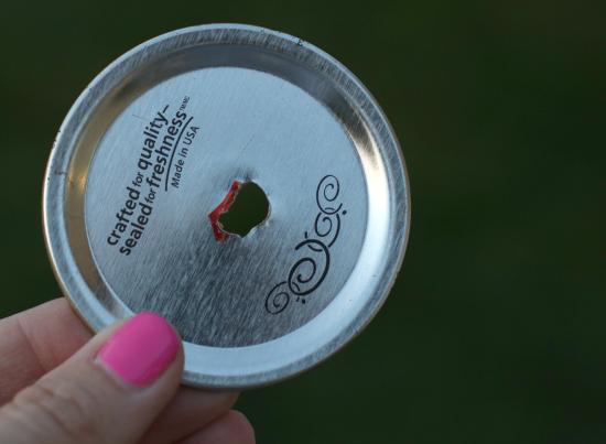 mason jar butterfly feeder