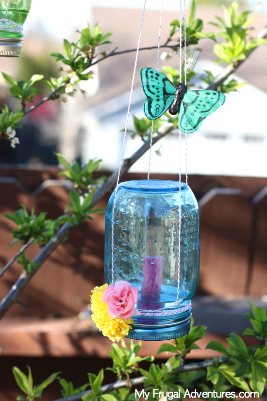tutorial to make a butterfly feeder