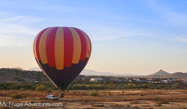 Hot Air Balloon in Scottsdale