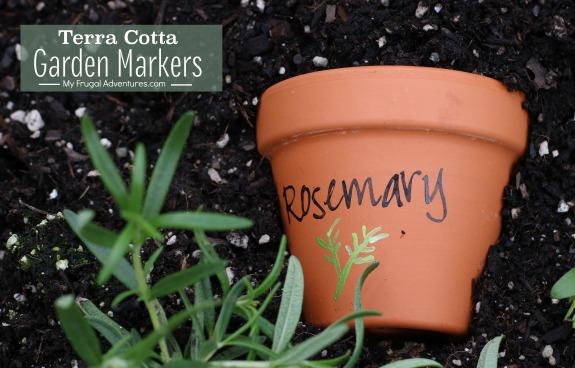 Terra Cotta Garden Markers