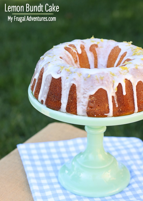 Lemon Bundt Cake Recipe_