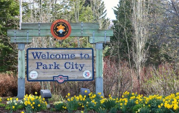 Park City sign