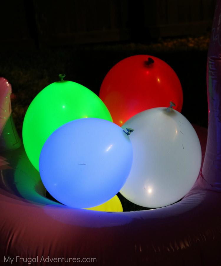 glow in the dark balloon