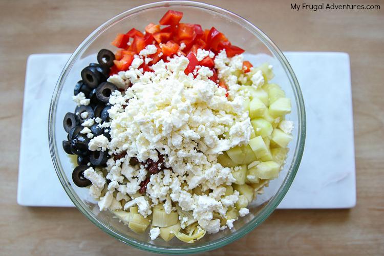 mediterannean pasta salad