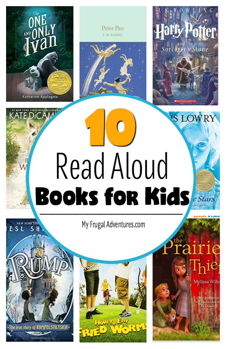 10 read aloud books for kids