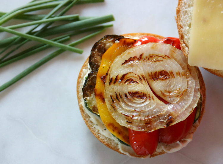 Roasted Veggie Sandwich 4