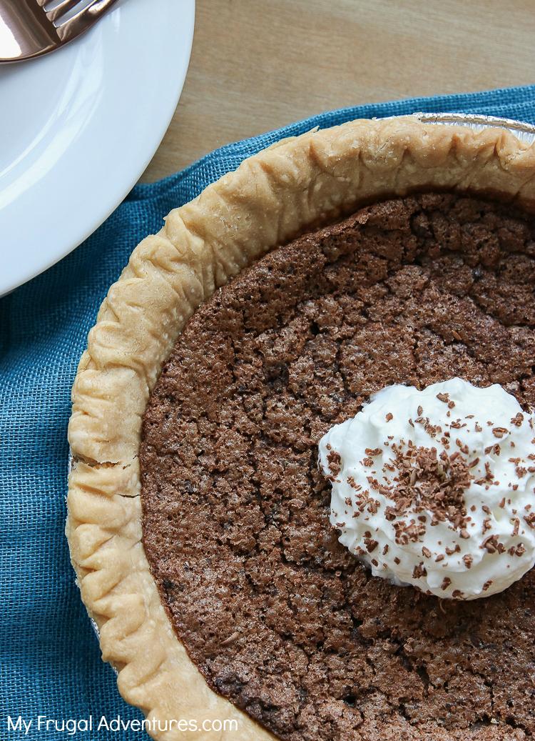 Chocolate Chess Pie Recipe My Frugal Adventures