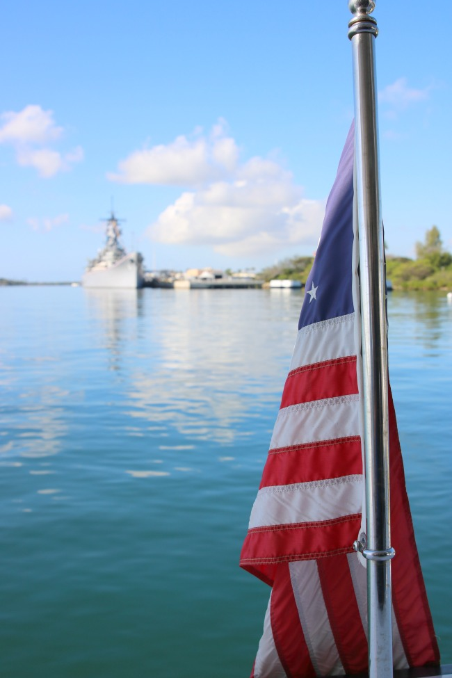 Things to do in Oahu on myfrugaladventures.com. Visiting Pearl Harbor in Honululu.