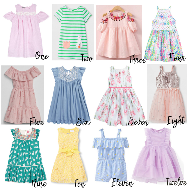 Easter Is Coming Up In A Few Weeks And It Doesnt Hurt To Start Looking At Easter Dresses For The Little Ones We Have A Few Occasions In Spring That Call
