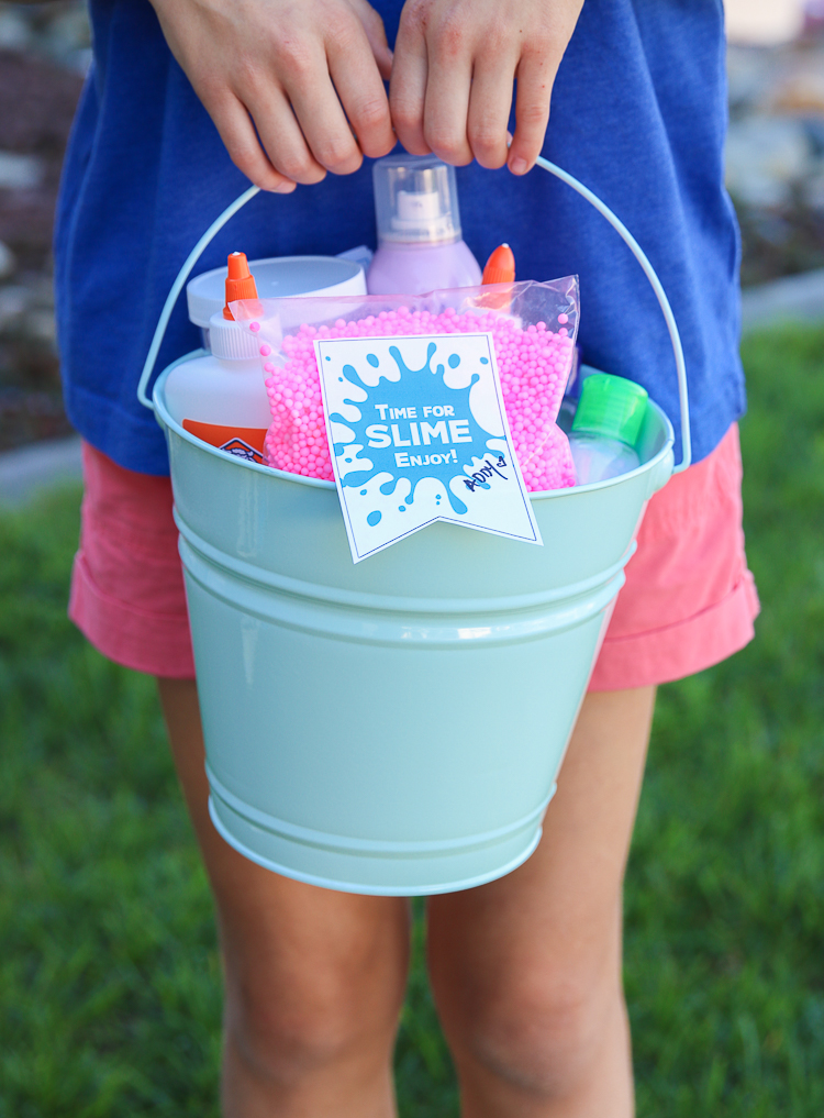 Slime Gift Idea Free Printables My Frugal Adventures