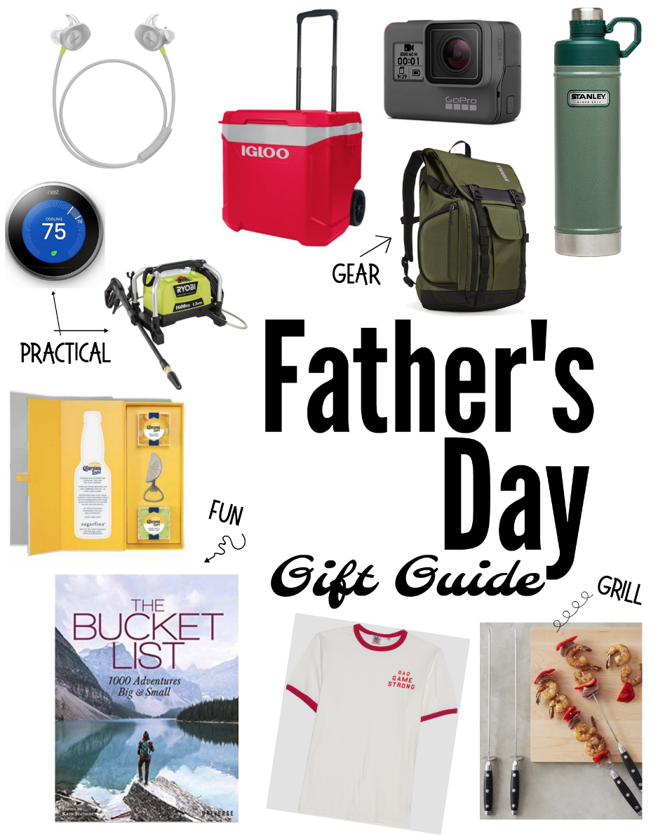 Father's Day gift guide on MyFrugalAdventures.com. Ideas for Father's Day gifts.