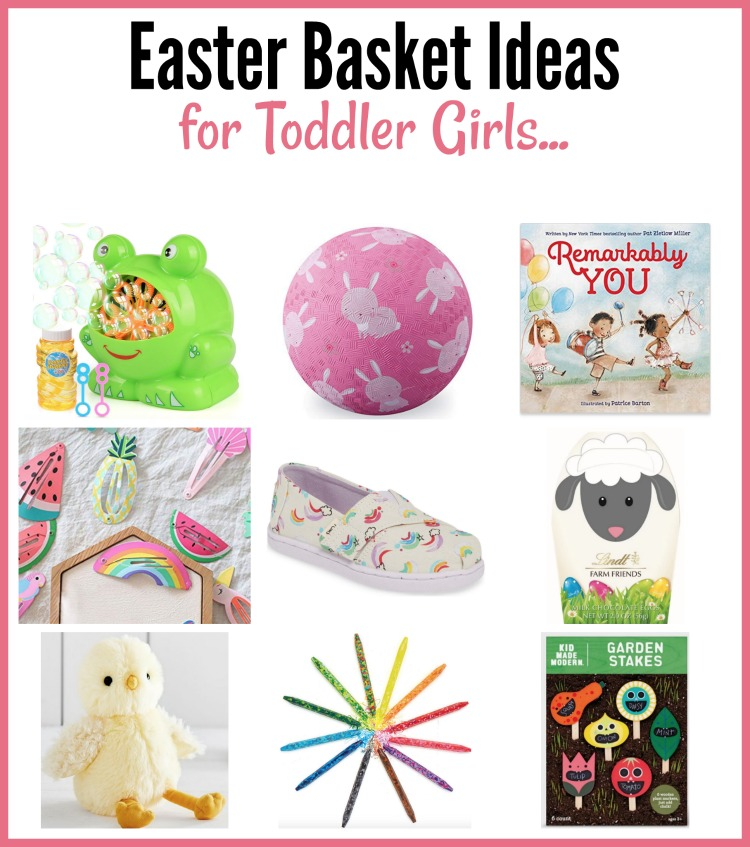 easter basket ideas for toddler girls