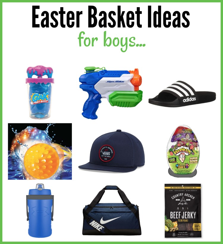 easter basket ideas for boys