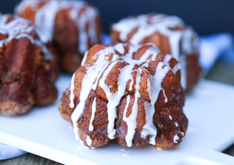 Monkey Bread Muffins recipe from MyFrugalAdventures.com. Easy and delicious brunch idea.