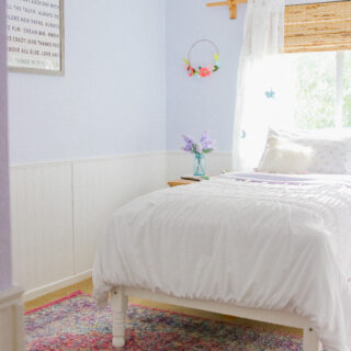 Lavender Girl's Bedroom Decor